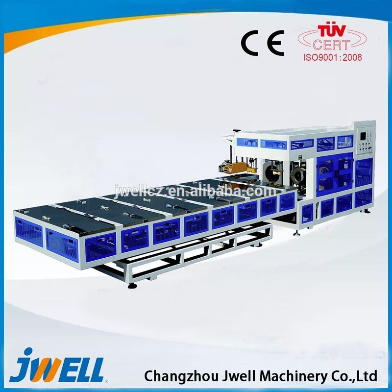 Plastic PVC Pipe Manufacturing Machine With Imported Controller